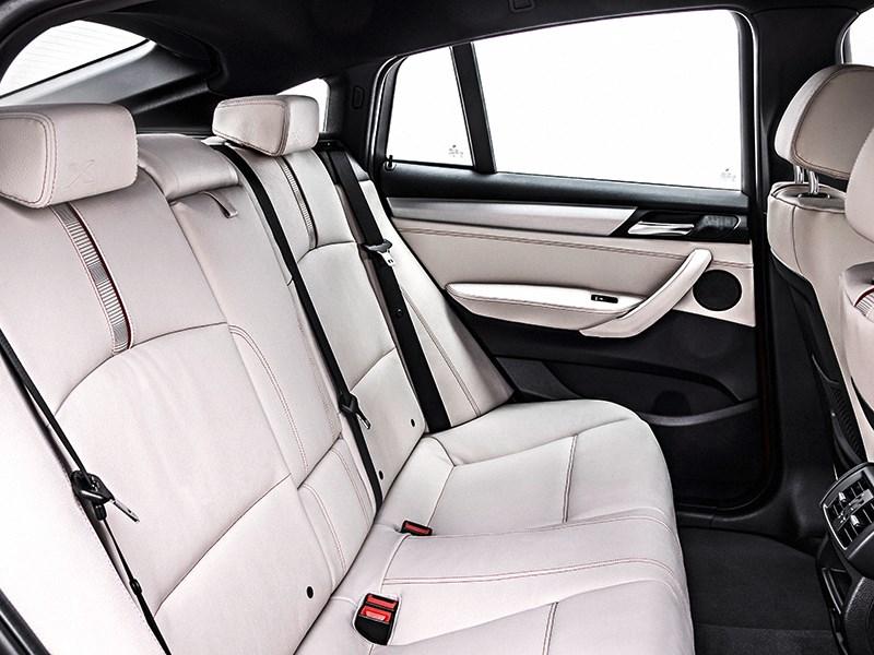 BMW X4 2014 задний диван фото 1