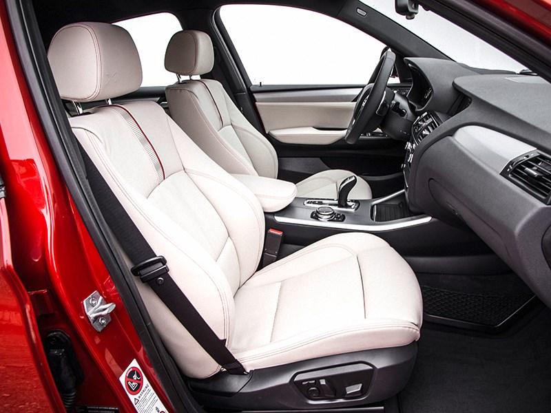 BMW X4 2014 передние кресла фото 1