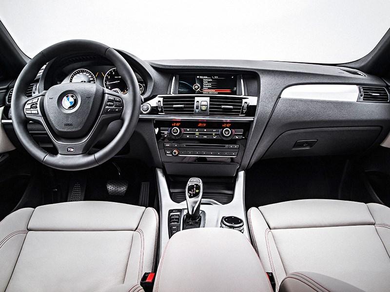 BMW X4 2014 салон