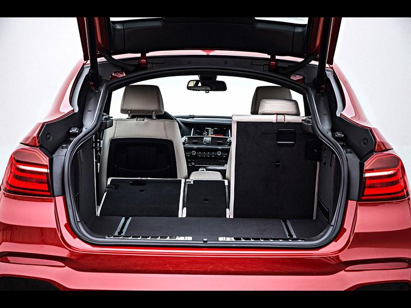 BMW X4 2014 багажное отделение фото 2