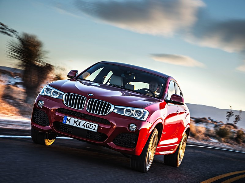 BMW X4 2014 вид спереди фото 4