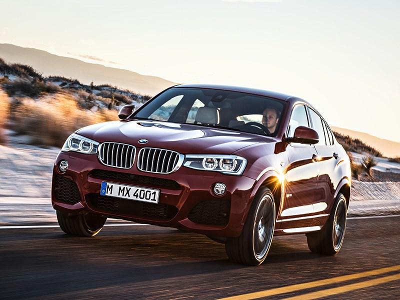 BMW X4 2014 вид спереди фото 7