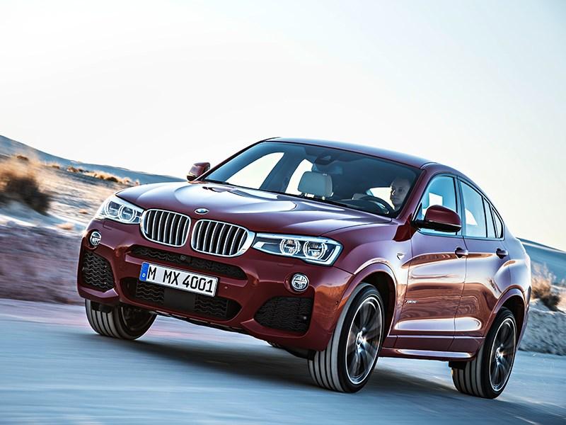 BMW X4 2014 вид спереди фото 9