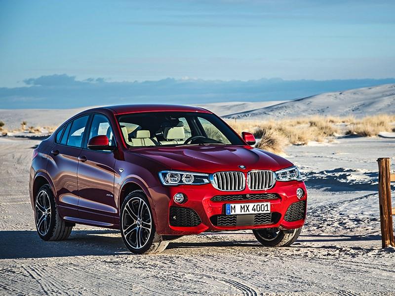 BMW X4 2014 вид спереди фото 10