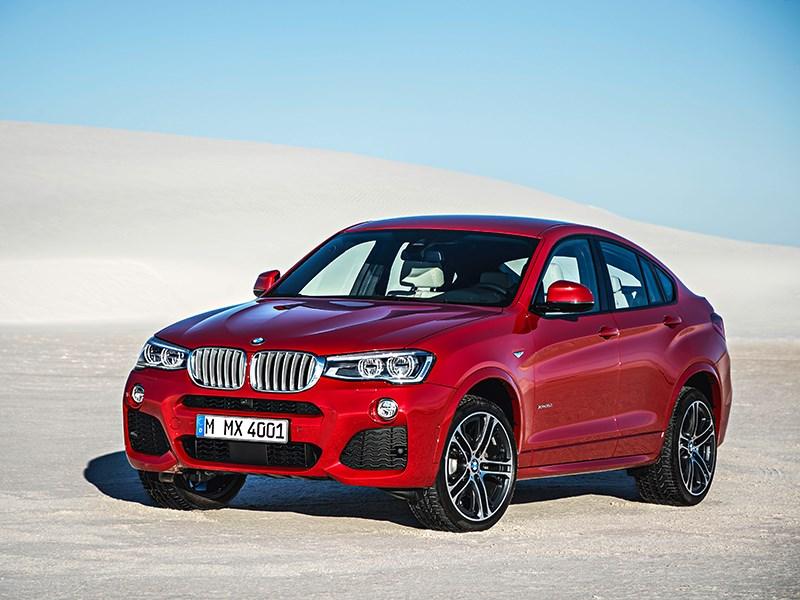 BMW X4 2014 вид спереди фото 11