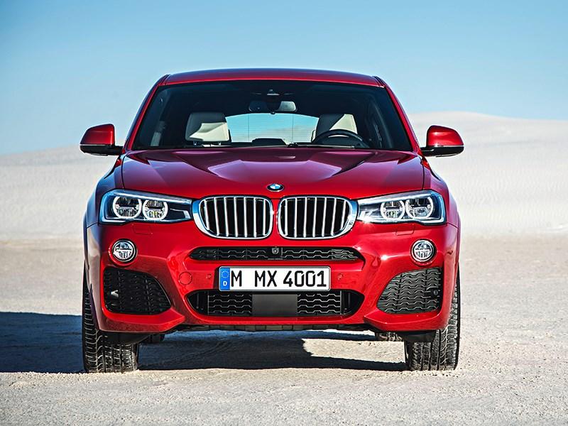 BMW X4 2014 вид спереди фото 12