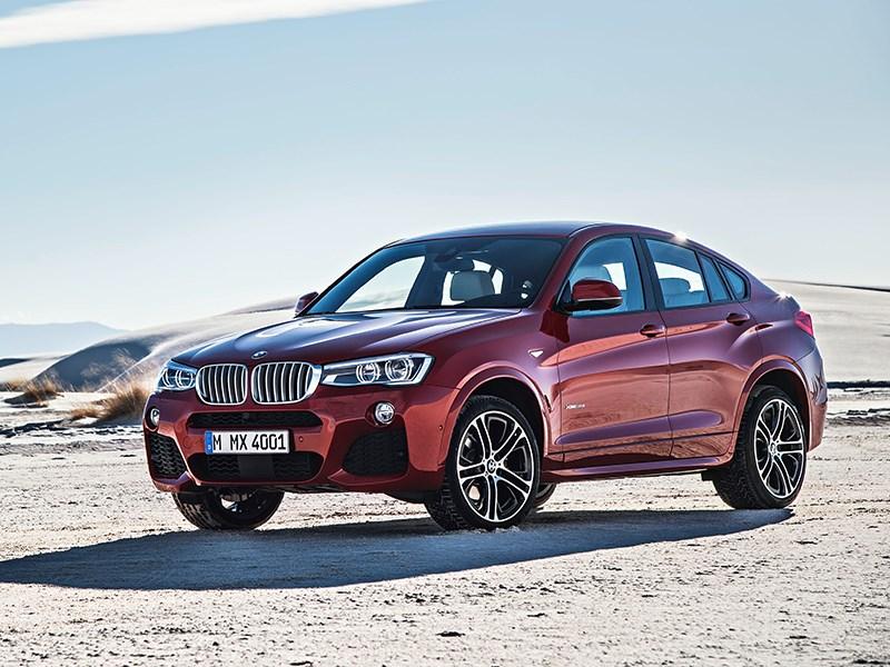BMW X4 2014 вид сбоку фото 7