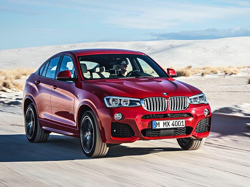 BMW X4 2014 вид спереди фото 14