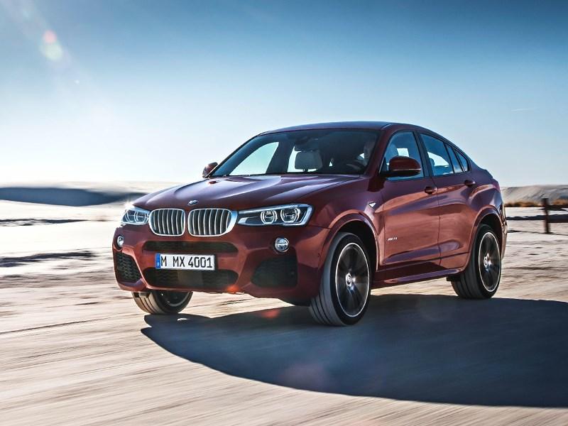 BMW X4 2014 вид спереди фото 15
