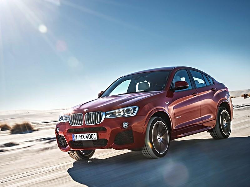 BMW X4 2014 вид спереди фото 16