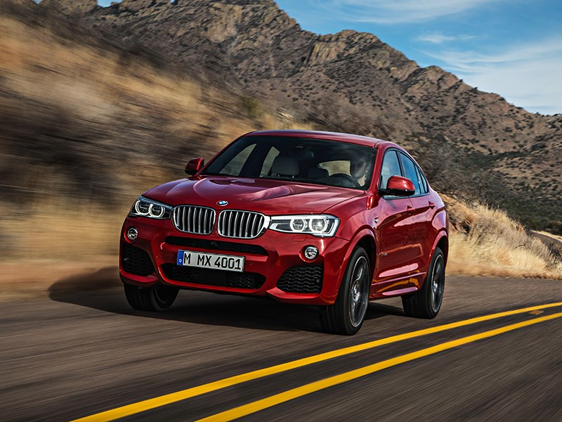 BMW X4 2014 вид спереди фото 21
