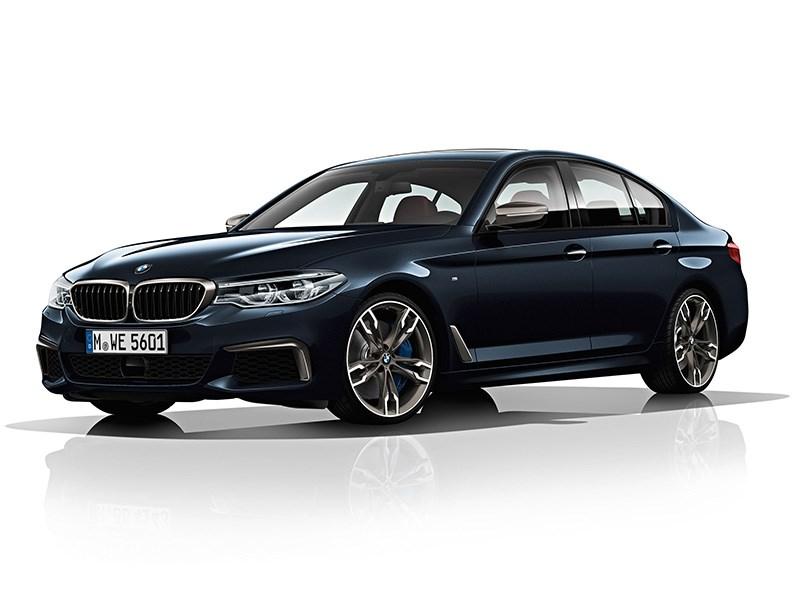 В России появилась самая быстрая дизельная BMW 5-Series
