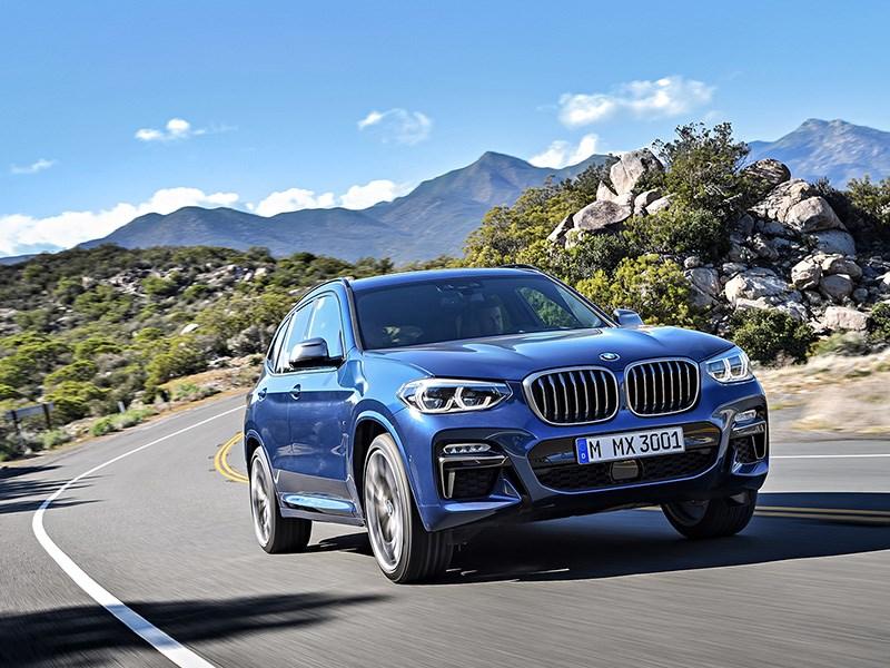 BMW раскрыла подробности о новом X3 для России