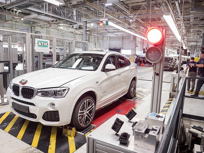 BMW будет выпускать в России новые модели для мирового рынка