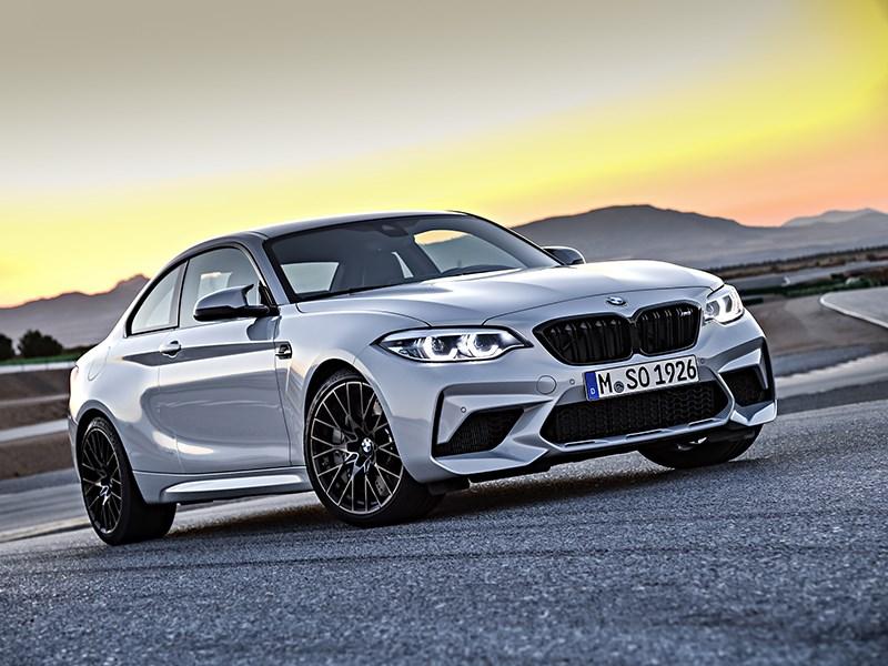 BMW назвала рублевые цены на M2 Competition Фото Авто Коломна