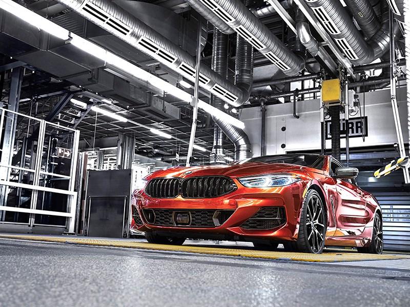 BMW начала производство новой 8-й серии