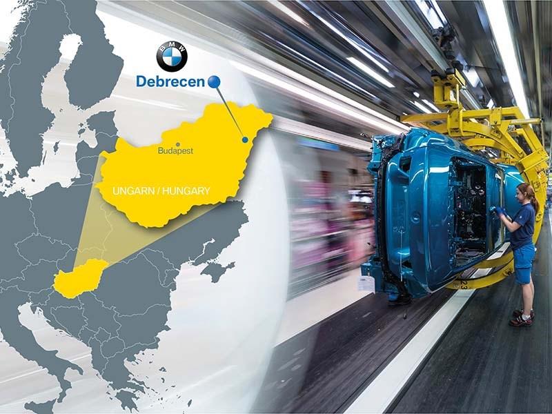 BMW построит завод в Венгрии