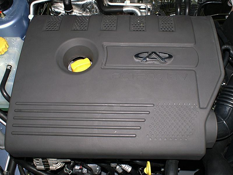 Chery Fora 2006 крышка двигателя