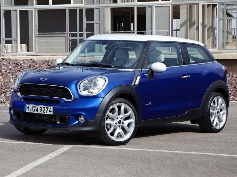 Парижский автосалон: Mini представила новый Paceman