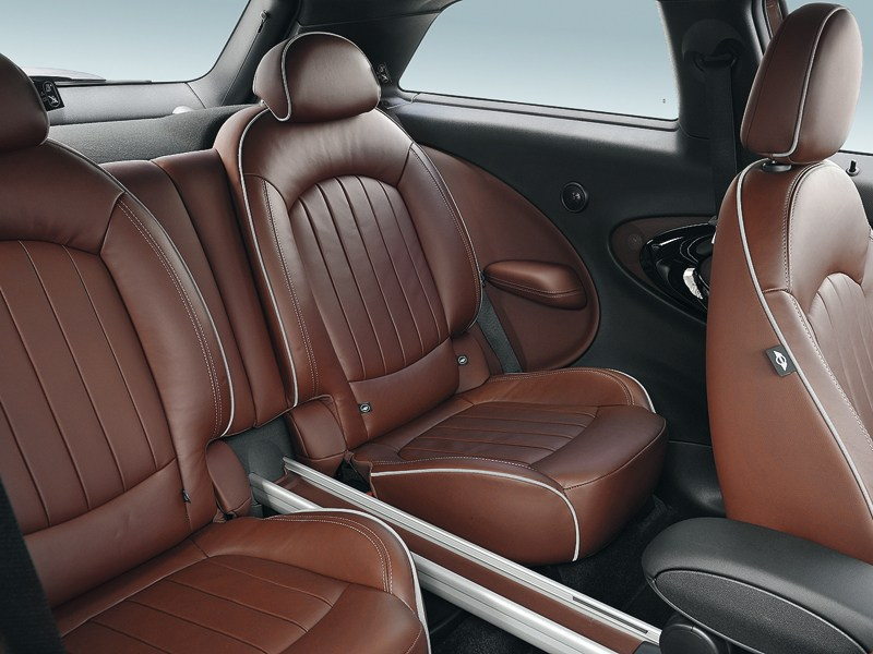 MINI Cooper S Paceman 2013 задние кресла