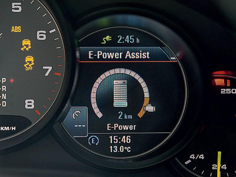 Porsche Panamera S 2014 приборная панель