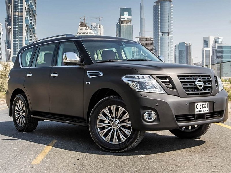 Nissan Patrol 2014 основной вид