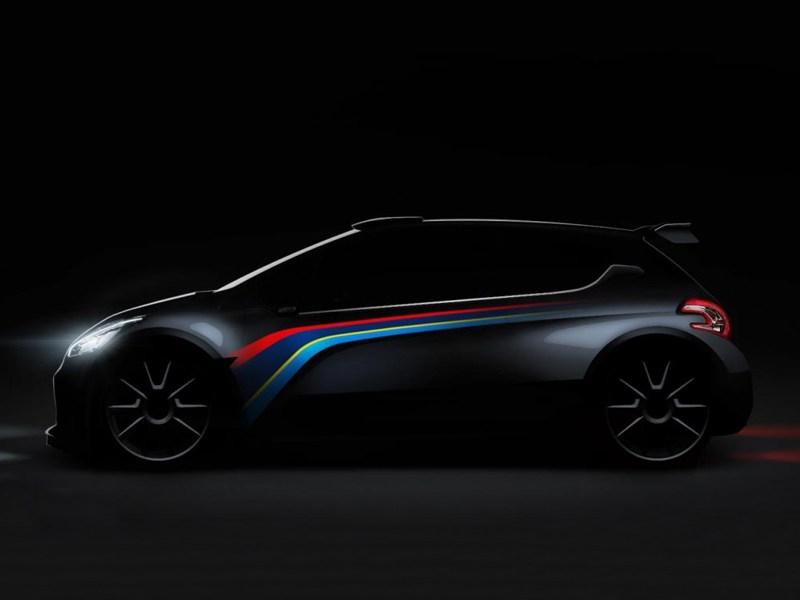 Peugeot представит в Париже замену болиду 207 Super 2000