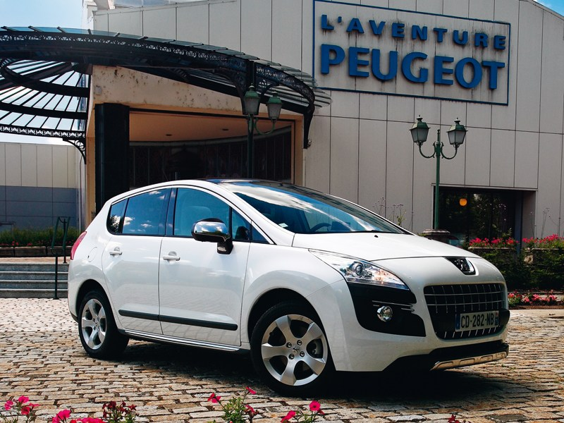 Peugeot 3008 - peugeot 3008 2010 вид спереди