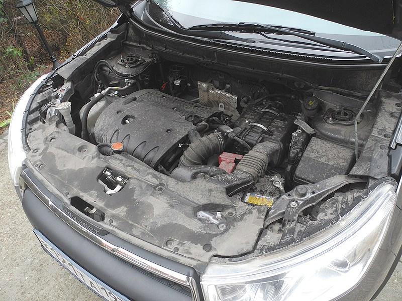Peugeot 4008 2012 двигатель