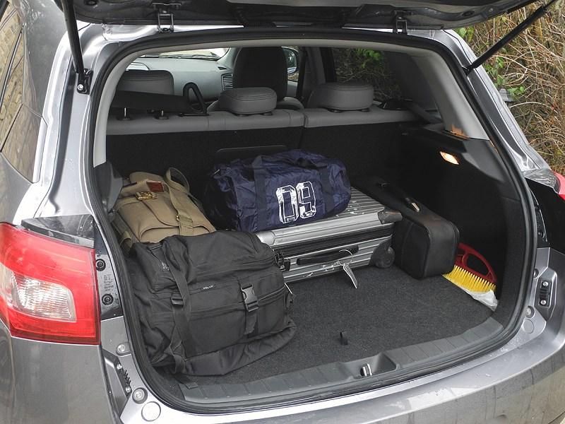 Peugeot 4008 2012 багажное отделение