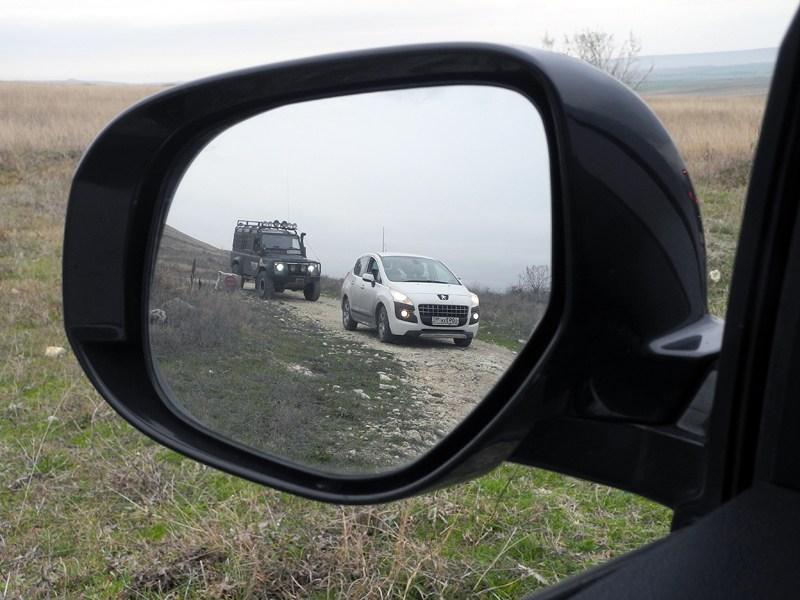 Peugeot 4008 2012 зеркало заднего вида