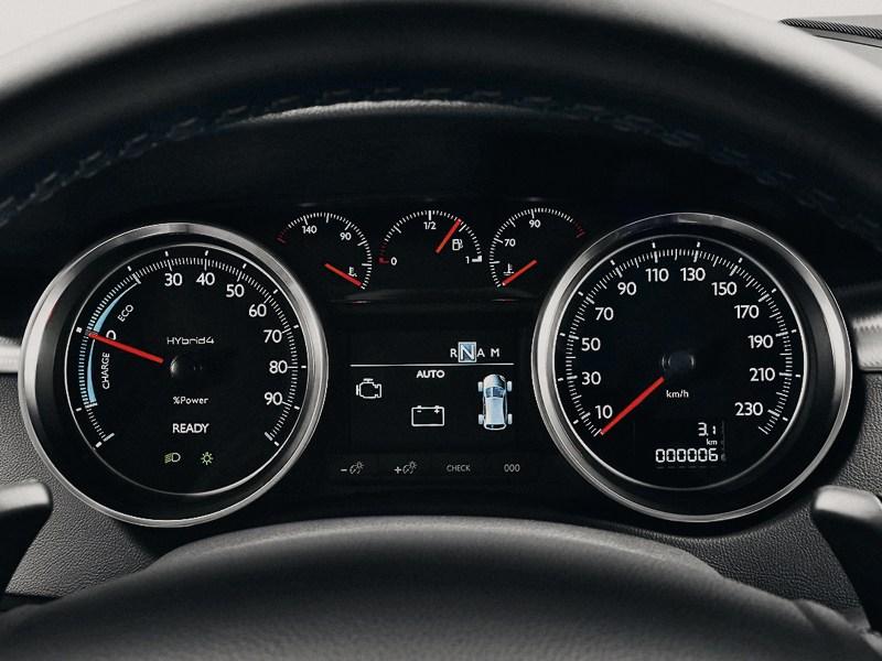 Peugeot 508 RXH 2012 приборная панель