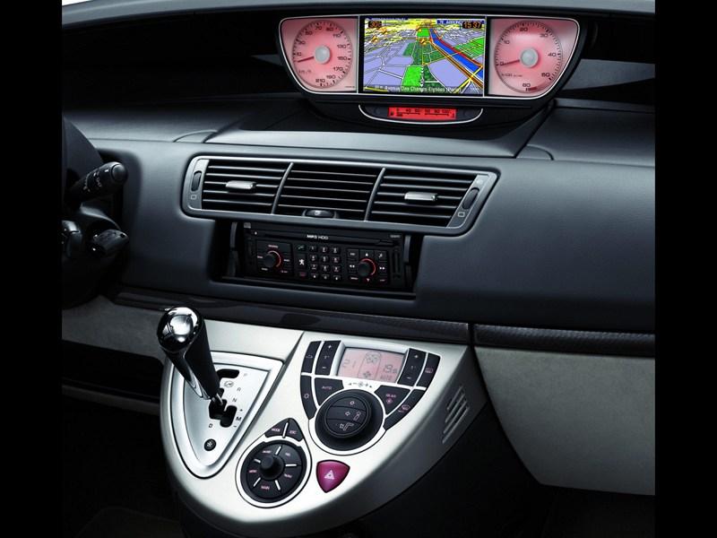 Peugeot 807 2012 приборы