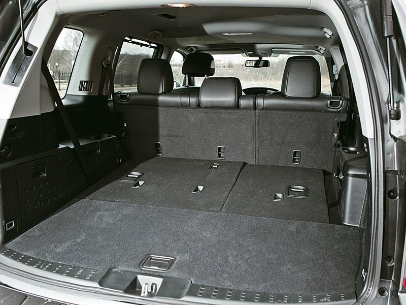 Honda Pilot 2012 багажное отделение