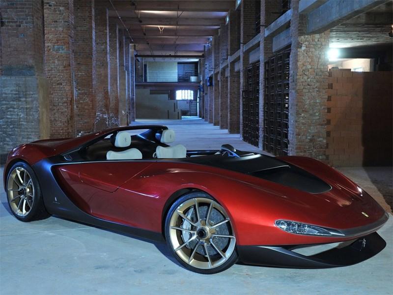 Ferrari Pininfarina Sergio концепт