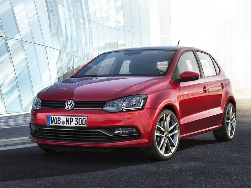 Volkswagen Polo 2013 вид спереди фото 2