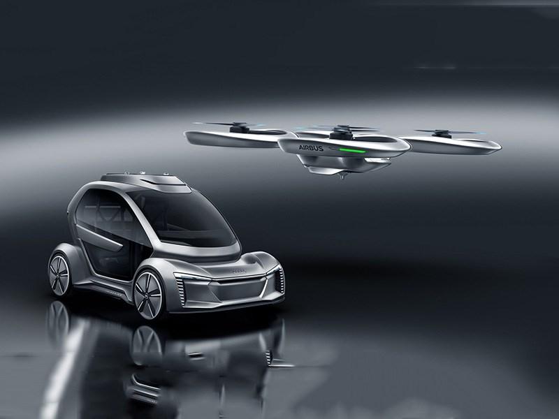 Audi подключилась к работе по созданию летающего автомобиля
