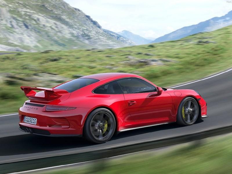 Porsche 911 GT3 3.8 2013 вид сбоку