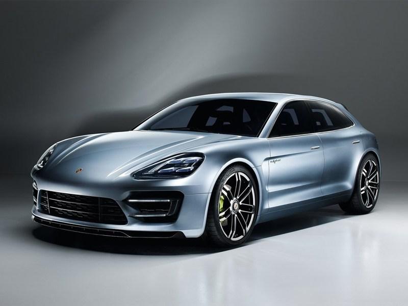 Новый Porsche Panamera Sport Turismo - Porsche Panamera Sport Turismo 2013 вид спереди