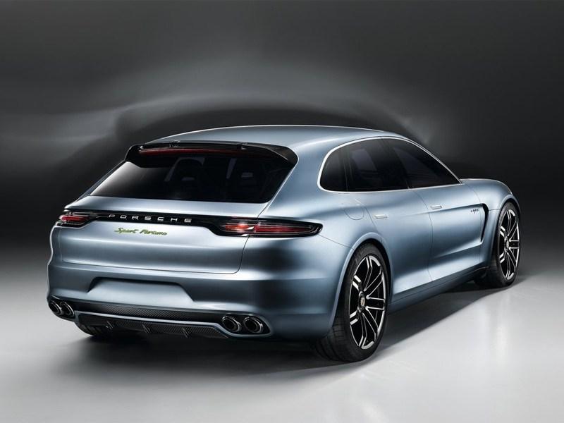 Porsche Panamera Sport Turismo 2013 вид сзади