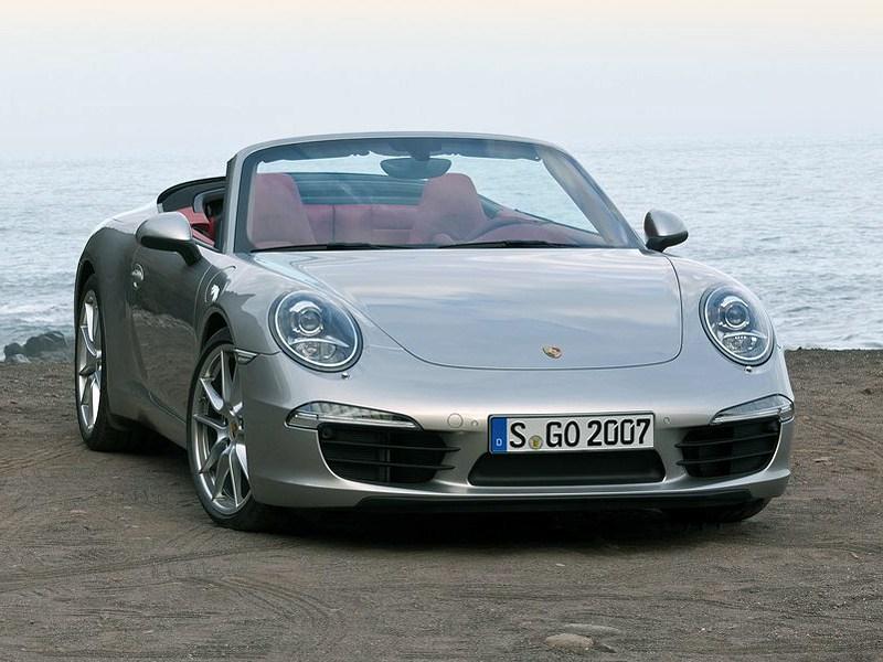 Летом лучше без крыши (Обзор российского рынка открытых автомобилей - 2007) 911 Carrera Cabriolet