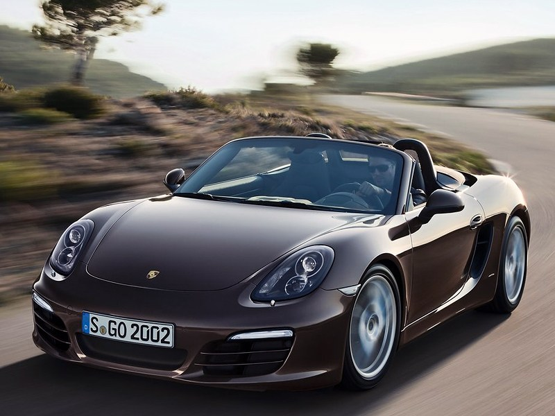 Навстречу лету, навстречу ветру.. (BMW 6 Series Cabrio, Citroen C3 Pluriel, Mercedes-Benz SLK, MINI Convertible, Peugeot 307 CC, Porsche 911 Cabriolet, Porsche Boxster, Volkswagen New Beetle Cabrio) Boxster