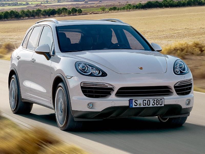 Великолепная пятерка (Mercedes-Benz ML-Klasse,BMW X5,Audi Q7,Porsche Cayenne,Volkswagen Touareg) Cayenne поколение II
