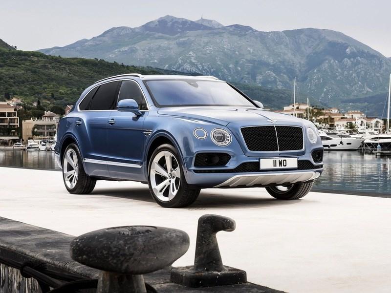 Bentley представила дизельную версию кроссовера Bentayga