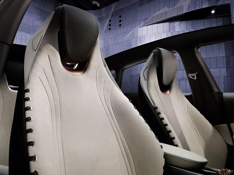 Infiniti Q30 концепт 2013 кресла