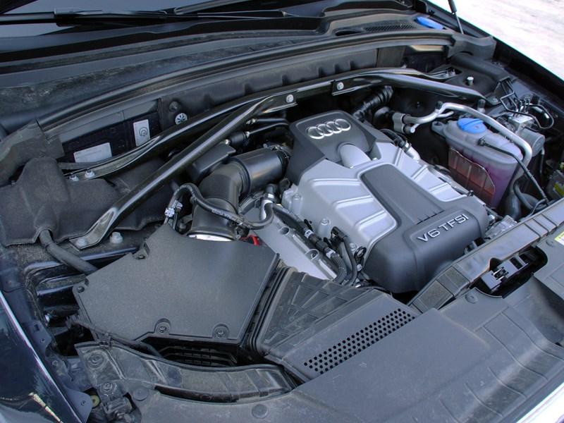 Audi Q5 2012 двигатель