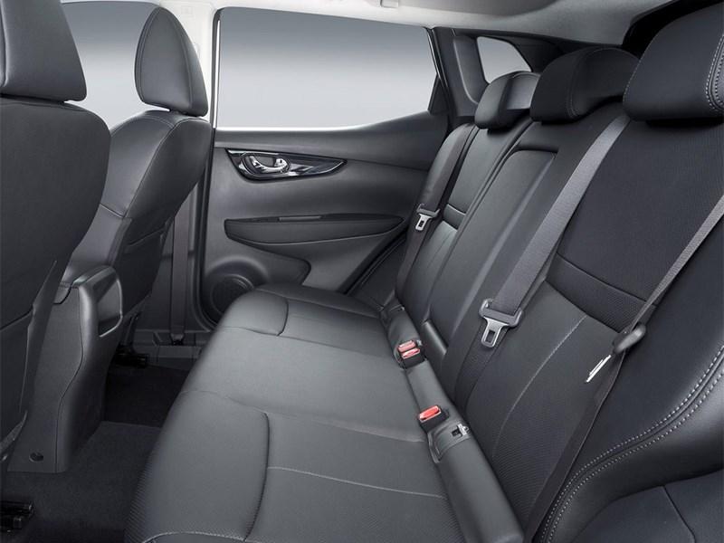 Nissan Qashqai 2013 задний диван