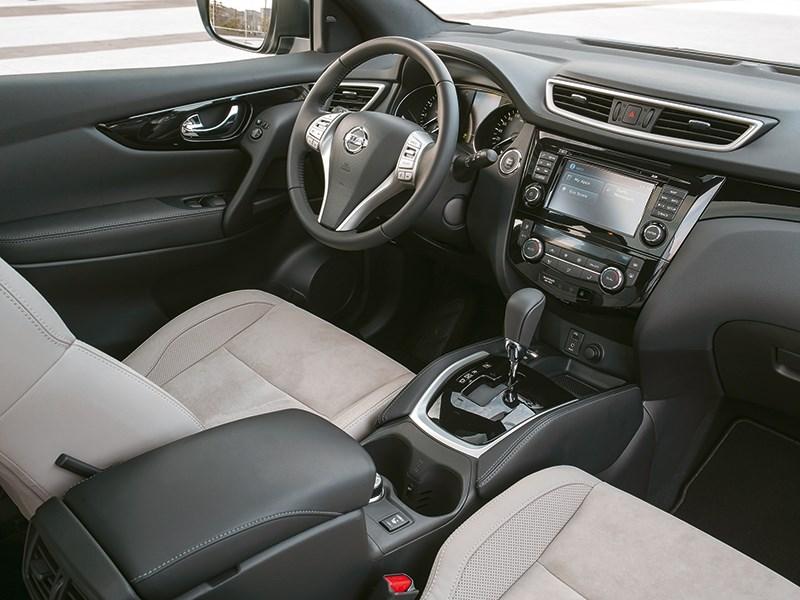 Nissan Qashqai 2013 салон