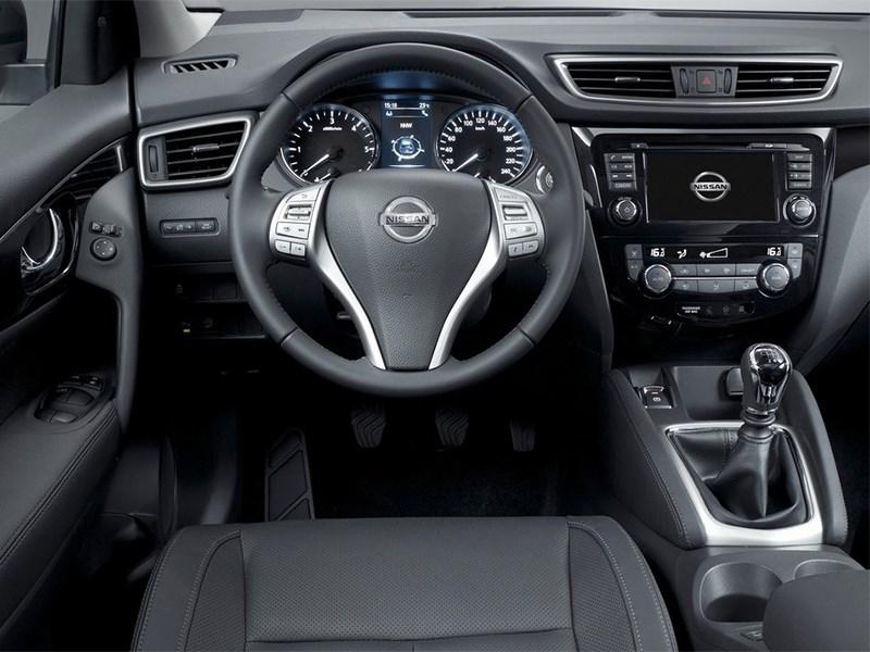 Nissan Qashqai 2013 водительское место