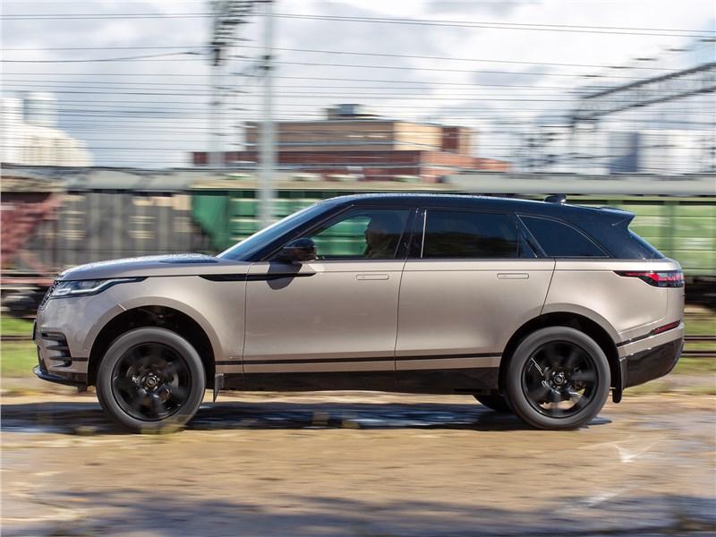 Land Rover Range Rover Velar (2021) вид сбоку